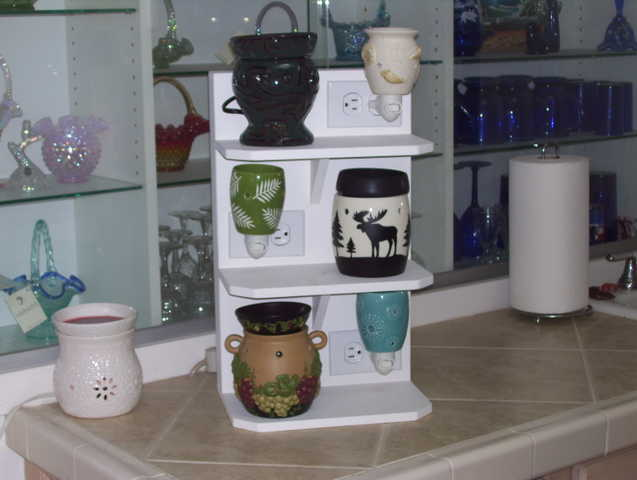 how to make a scentsy display stand