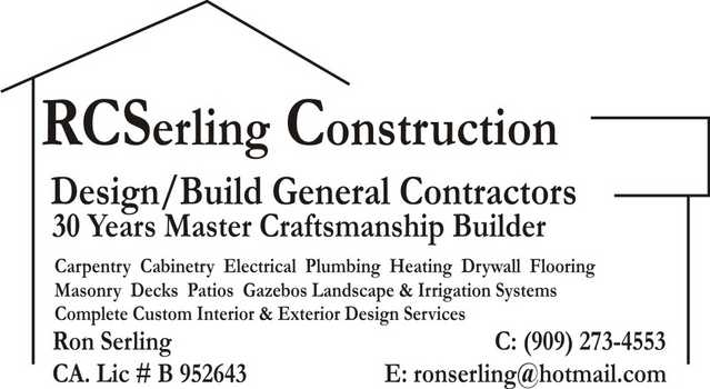 Rcserling Construction