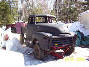 1952 Gmc 5 Piece Window Truck
