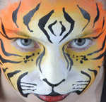 Dazzling And Dramatic Face Painting And Body Art