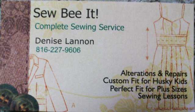 Complete Sewing Services