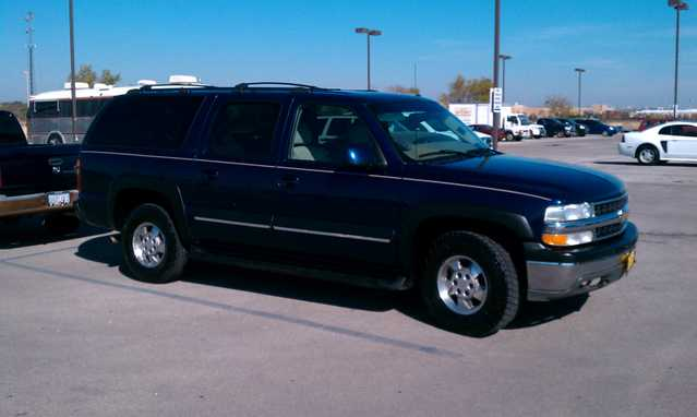 2002 Chevy Suburban Lt 4x4 Leather