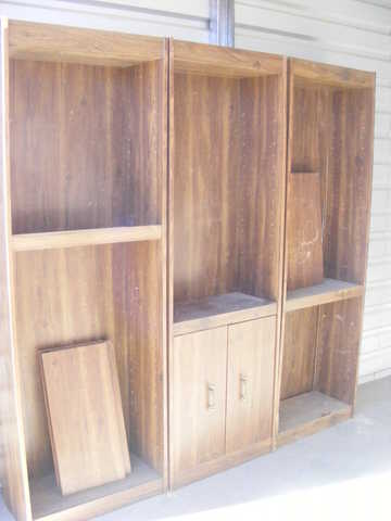 3 Book - Cases / Shelving