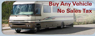 Pay No Sales Tax On Any Type Of Vehicle, Boat, Or Aircraft