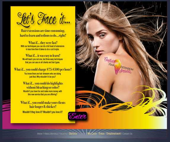 Be A Hair Extension Specialist