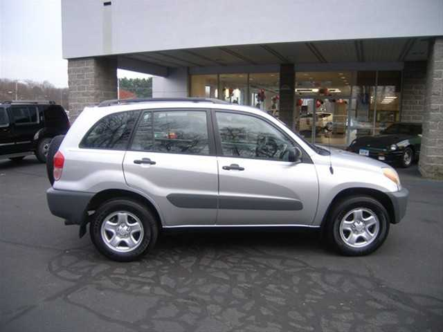 2001 Toyota Rav4 Silver Manual 5 Speed