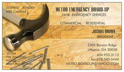 24hr Emergency Board - Up Services