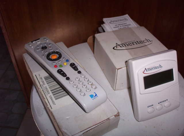 Caller Id / Direct Tv Box & Remote
