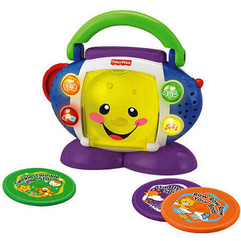 Fisher - Price Laugh & Learn Cd Player