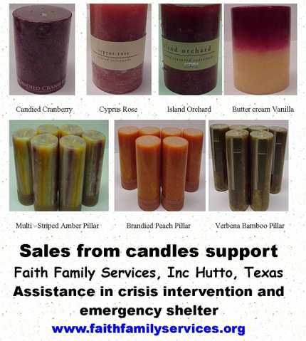 Scented Pillar Candles 2 Fer $12 Or $7 Each