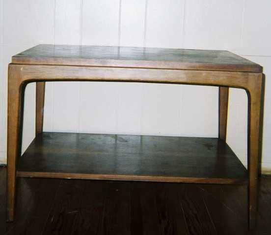 Lane Mid - Century Coffee Table - $35