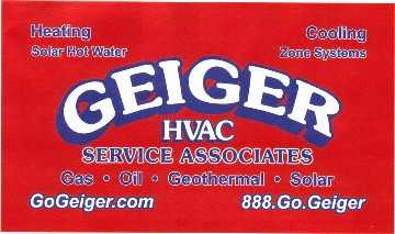 Geiger Hvac / Water Heaters And Geothermal