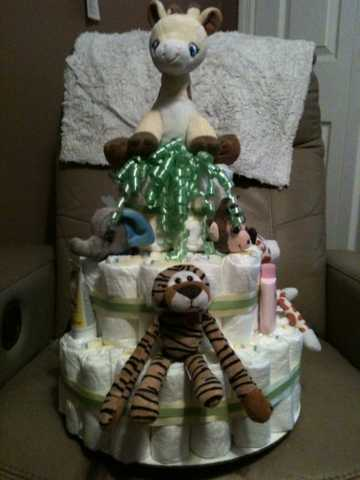 Diaper Cakes, Wreaths, Etc.