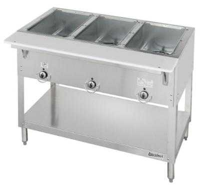 Aerohot Steamtable - Ss Gas Hot Food Unit