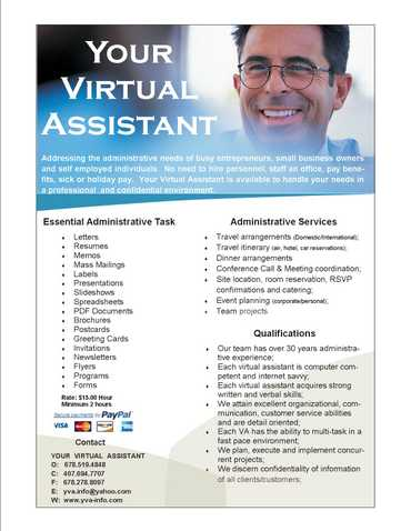 Your Virtual Administrative Assistant Internet