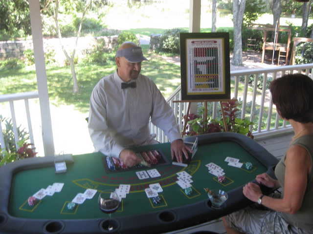 Have Blackjack Table Will Travel