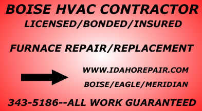 Furnace Repair, Replacement Or Servicing - In Boise