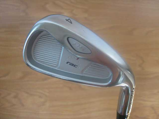 For Sale - Taylormade Rac Os2 Steel 4 Iron Golf Club - Clean