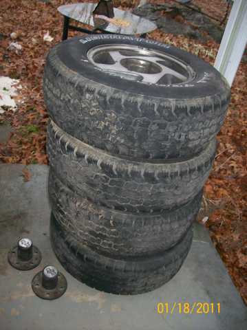 4 Liberator All Terrain Tiresp235 / 75r15
