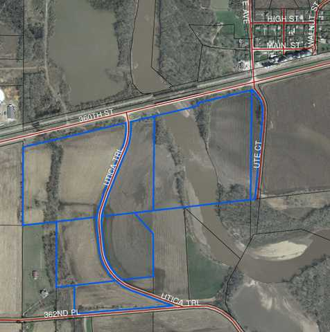 Farmland With Commercial Potential Near Booneville