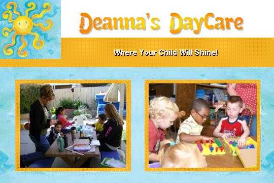 Deanna's Daycare - Loving, Fun Educational Home Environment