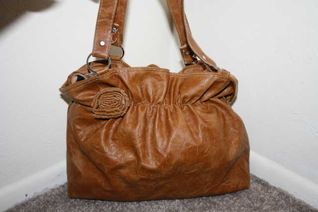 Brown Hand Bag Purse