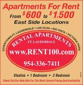 Fort Lauderdale Apartments For Rent! 20+ Locations!