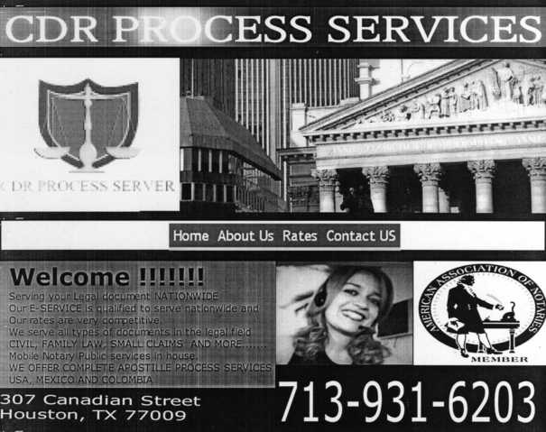 Notary Public & Process Server In Houston
