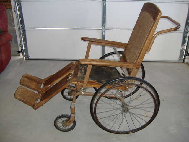 Antique Gendron Co. Wheelchair 1800's