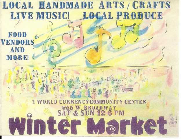 * Saturday Only * Winter Market