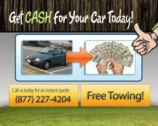 Get Cash For Your Car With One Simple Call! (877) - Cash - 204