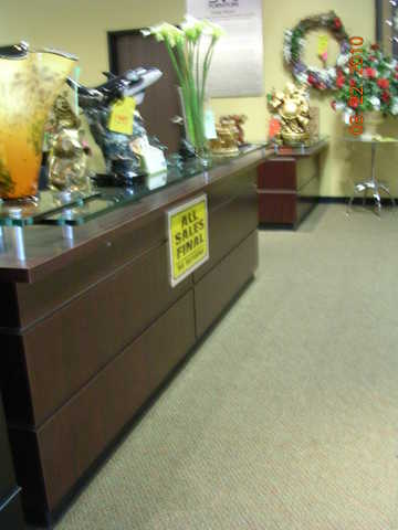 41 Foot Front Office / Receptionist Desk