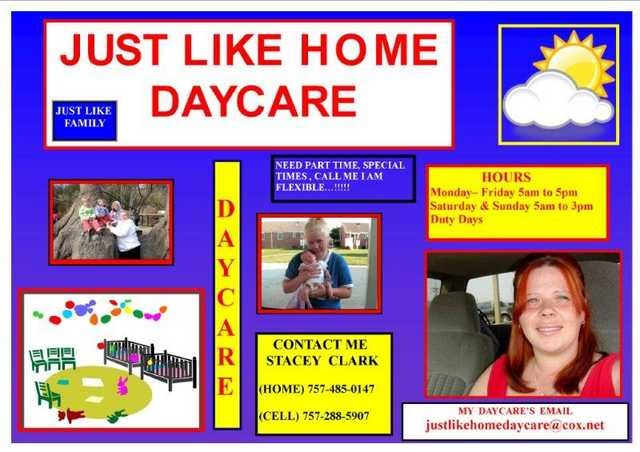Just Like Home Daycare
