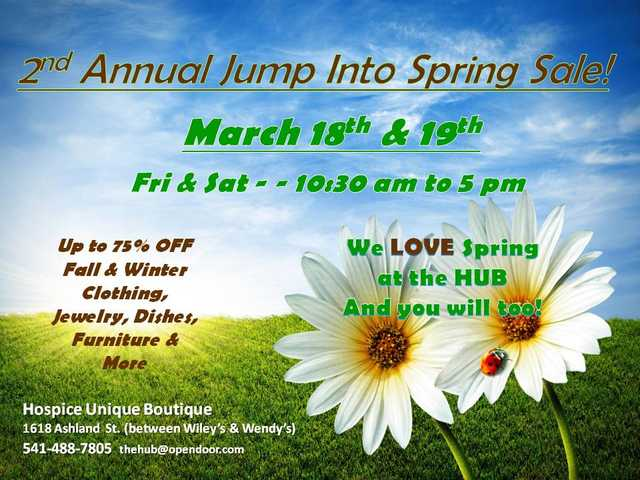 Jump Into Spring At The Hub