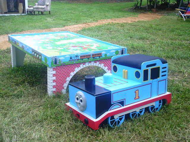 Thomas The Train Table Set & Thomas The Train Table Set - New $100 (Gaithersburg Md ...