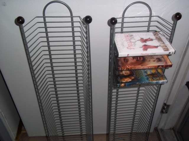 Dvd Storage Racks & Dvd Storage Racks - Used $10 (Henderson Nc) - AdsInUSA.com