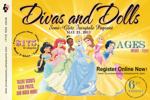Divas And Dolls Semi Glitz Fairytale Pageant