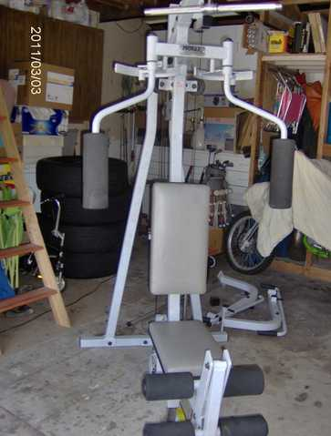 Home Gym $200 Complete Set In Perfect Condition