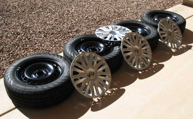 Tires And Wheels - New Car Takeoffs - $250.