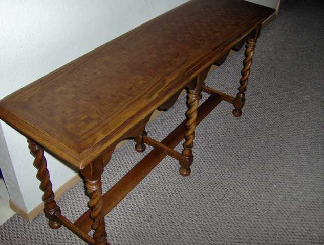 Ethan Allen Sofa Table Used 89 95 Marshfield