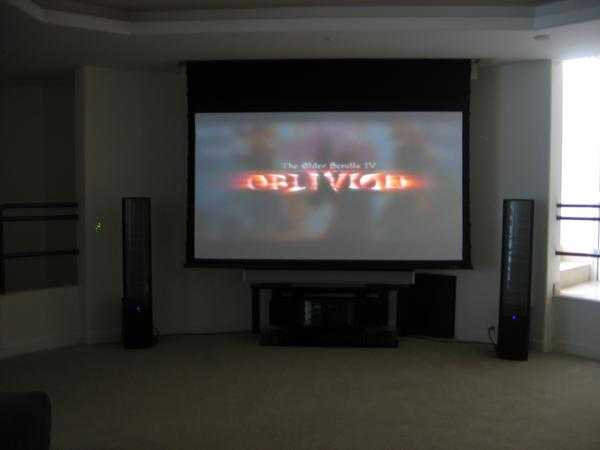 Flatscreen Installations And Home Theaters