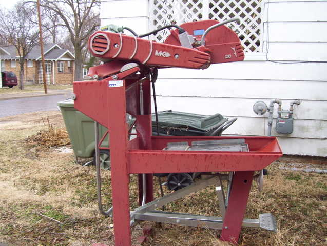 Mk 20 In. Masonary Saw