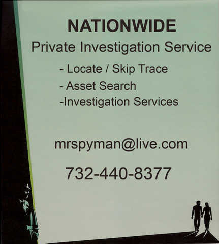 Assets & Skip Trace Searches - Private Detective Services