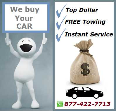 Call Us To Get Rid Of Your Used Car Anywhere In Nj