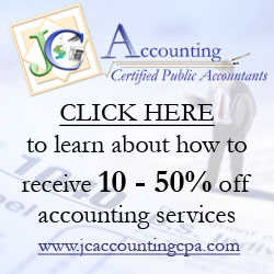 Receive 10% - 50% Off Accounting & Tax Services