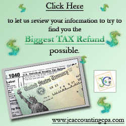 We Make Sure You Get The Largest Refund / Pay The Lowest Taxes