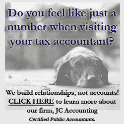 During Tax Time - Do You Feel Like Just A Number?