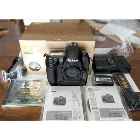 For Sale: Buy 3 Get 1 Free, Nikon D3x Digital Camera, Sony Handyc