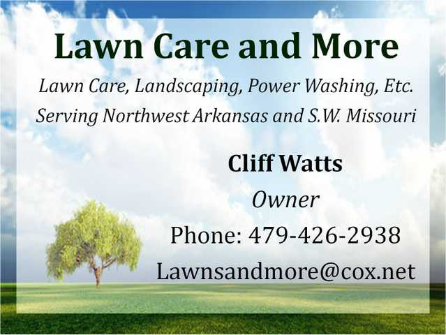 Lawn Care And More