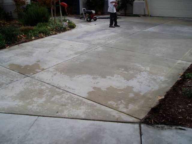 Look New Concrete Coloring Agent Home Services